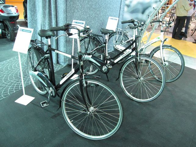 En direct du Salon du Cycle 2009 : le vélo à assistance électrique Peugeot en avant-première !