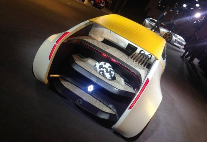 Renault dévoile en Inde The Concept, un petit coupé