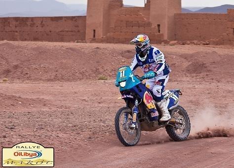 Rallye du Maroc :  6ème étape, l'étape à Ullevalseter et le rallye à Rodrigues
