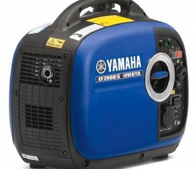 Yamaha vous offre de l'électricité partout sur terre : le groupe électrogène EF 2000iS.