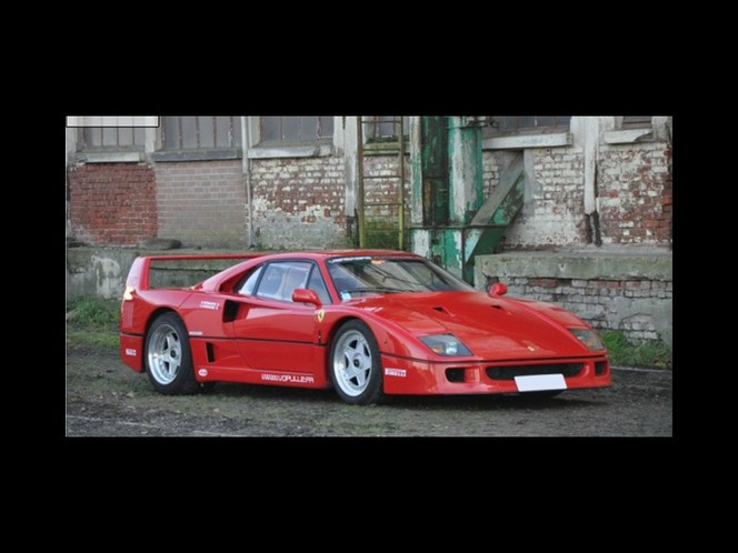 vid o vente aux ench res r tromobile 2012 l 39 incroyable histoire de la ferrari f40 de nigel. Black Bedroom Furniture Sets. Home Design Ideas
