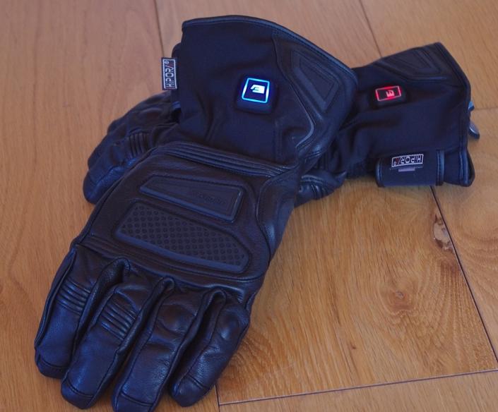 Esquad gant chauffant Molina 2: l'essai