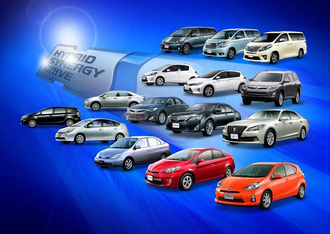 5 millions d'hybrides Toyota-Lexus vendus et une vidéo pour fêter ça