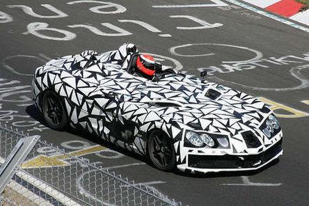 McLaren Mercedes SLR Speedster : ça va ressembler à ça !