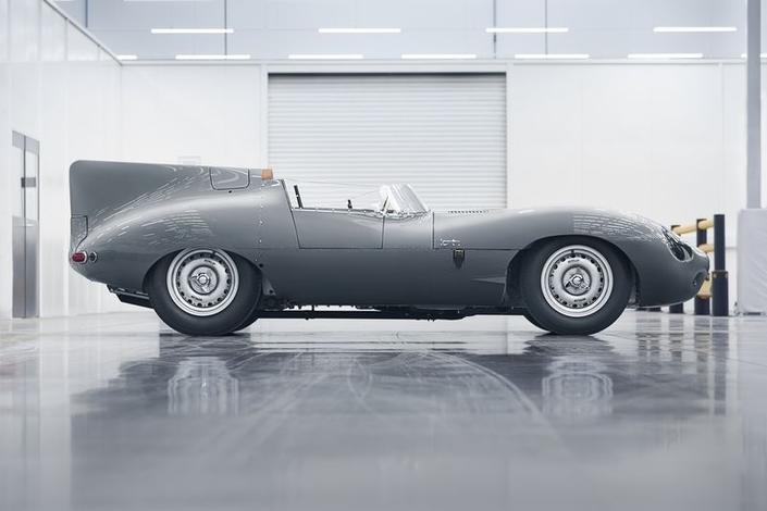 Jaguar relance la production de la Type D