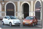 Renault Twingo 2/ Fiat 500 : une rencontre mythique