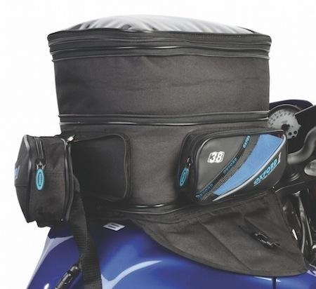 Nouvelle bagagerie First Time par Oxford : la sacoche de réservoir