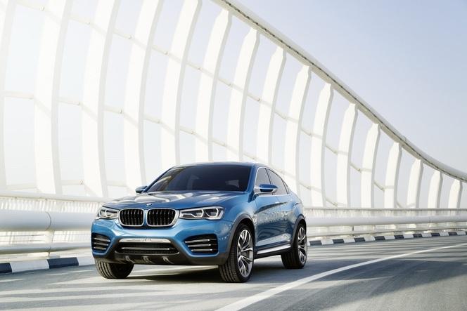 Shanghai 2013 : nouvelles photos du BMW X4 Concept