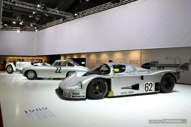 Vidéo - Rétromobile 2012 comme si vous y étiez : le stand Mercedes