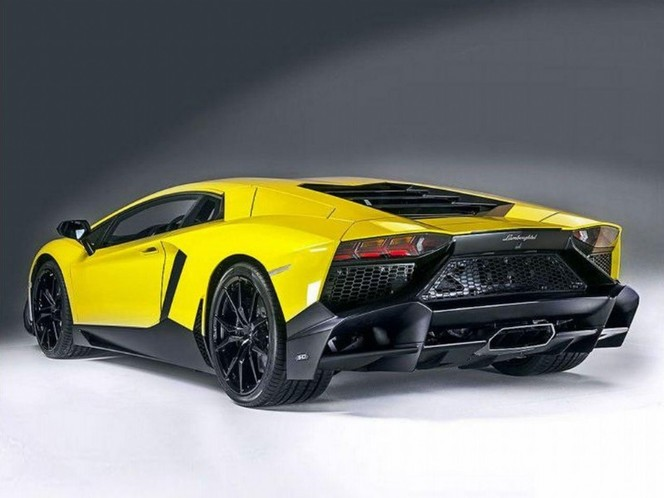 """Voilà la """"vraie"""" Lamborghini LP720-4 50eme Anniversaire"""