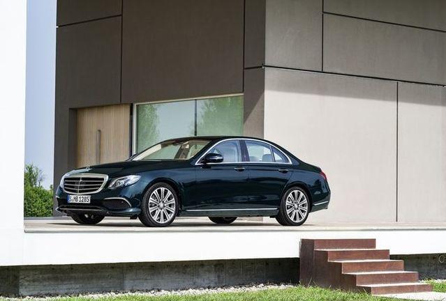 Mercedes officialise la nouvelle Classe E
