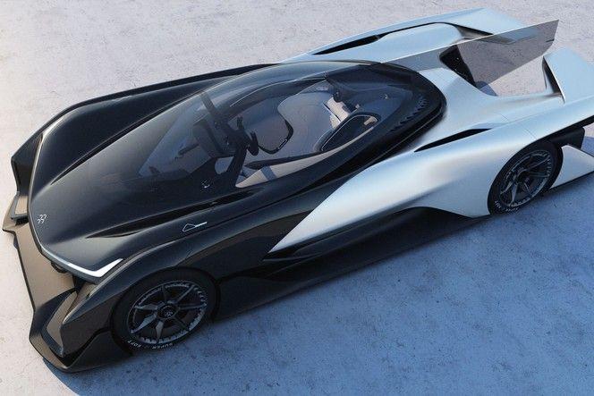 Faraday Future FFZERO1 concept : 1000 ch, en électrique