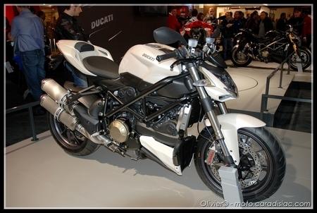 La Ducati Streetfighter élue «plus belle moto du salon de Milan»
