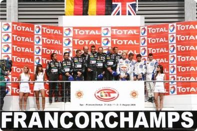 24 Heures de Spa: Italie triomphante, le GT1 pour Maserati, le GT2 pour Ferrari