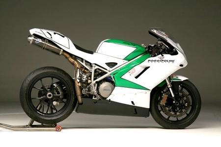 NCR Ducati 848 : 30 kilos de moins que la version stock…