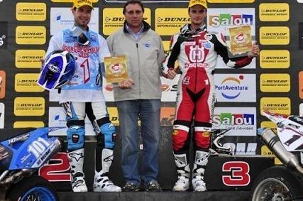 Championnat du monde Supermoto : S 2, Adrien Chareyre garde sa couronne