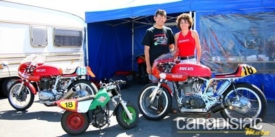 Interview de Véronique, présidente du Ducati Club de France et de son mari Hervé.