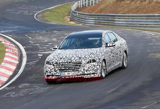 Surprise : la future Hyundai Genesis sur le Nürburgring