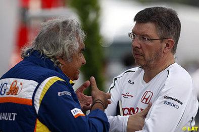 Formule 1 - Honda: Brawn fait du charme à Alonso