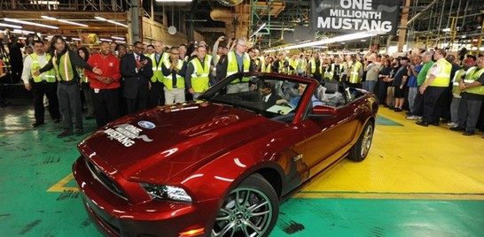Ford Mustang from Flat Rock : une horde de 1 million d'exemplaires