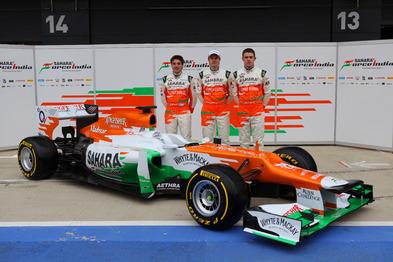 F1 : voici la Lotus E20 et la Force India VJM05