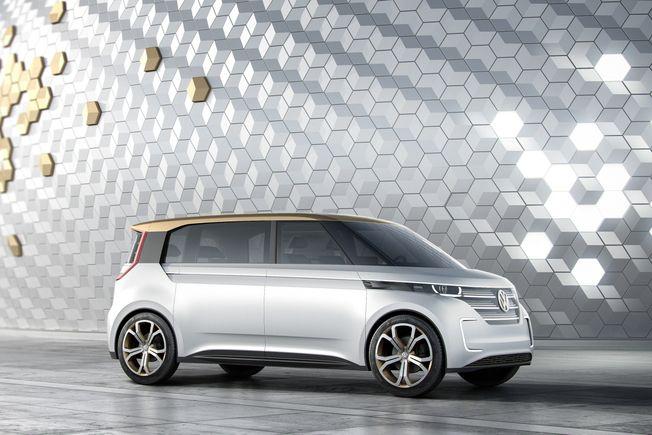 Volkswagen Budd-e concept : le retour du Combi vers le futur