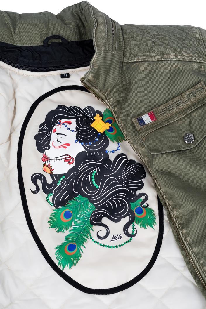 Segura Lady Frida: pour les motardes de caractère