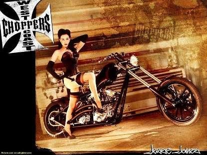 Moto & Sexy : la gothique