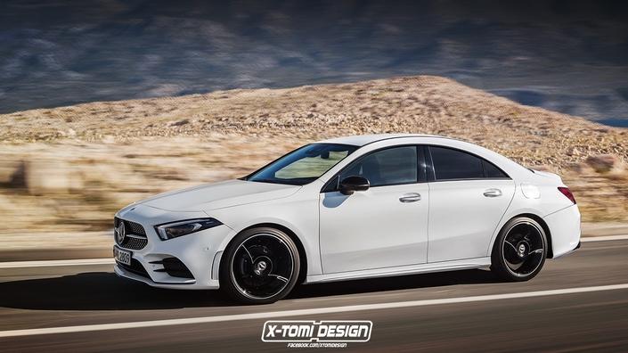 Design : une bonne idée de la future Mercedes CLA