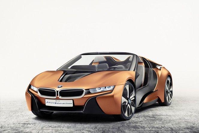 BMW : une i8 Spyder concept autonome à Las Vegas