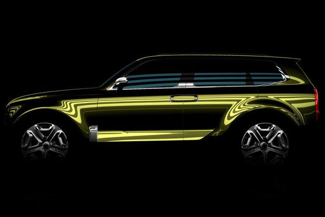 """Kia : un teaser annonce un SUV """"américain"""" pour le salon de Detroit"""
