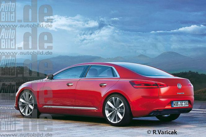 Future VW Phaeton : comme ça ?