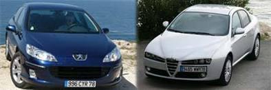 Alfa Romeo 159 VS Peugeot 407, le derbi