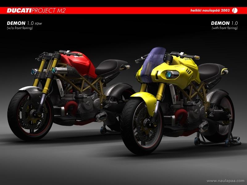 Concept bike Ducati et Aprilia