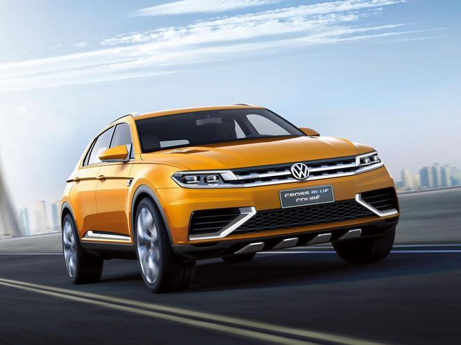 Salon de Shanghai 2013 - Voici le Volkswagen CrossBlue Coupe