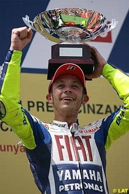 """Moto GP - Rossi: """"A chaque fois que je repenserai à la saison 2009 la première chose qui me viendra à l'esprit sera le dernier virage à Catalunya"""""""