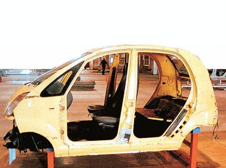 Tata Nano, the first