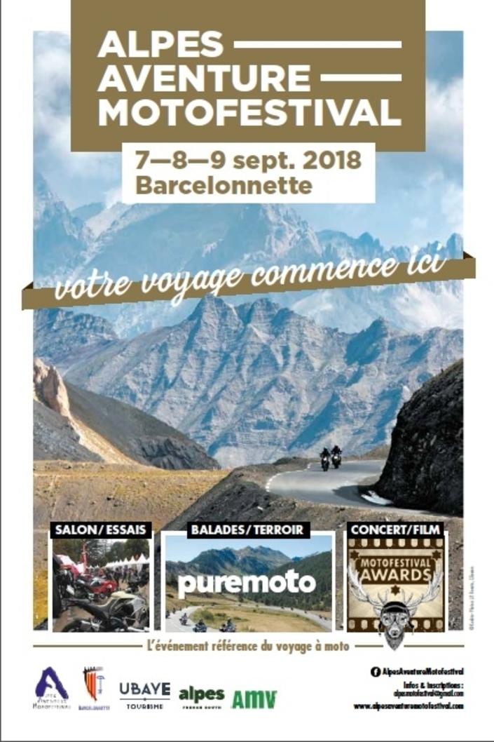 Alpes Aventure: l'épisode 2 du 7 au 9 septembre 2018 à Barcelonnette