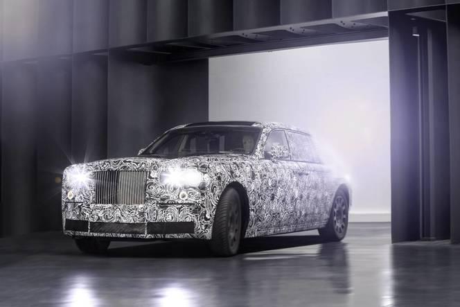 Les futures Rolls Royce au régime avec une structure en aluminium
