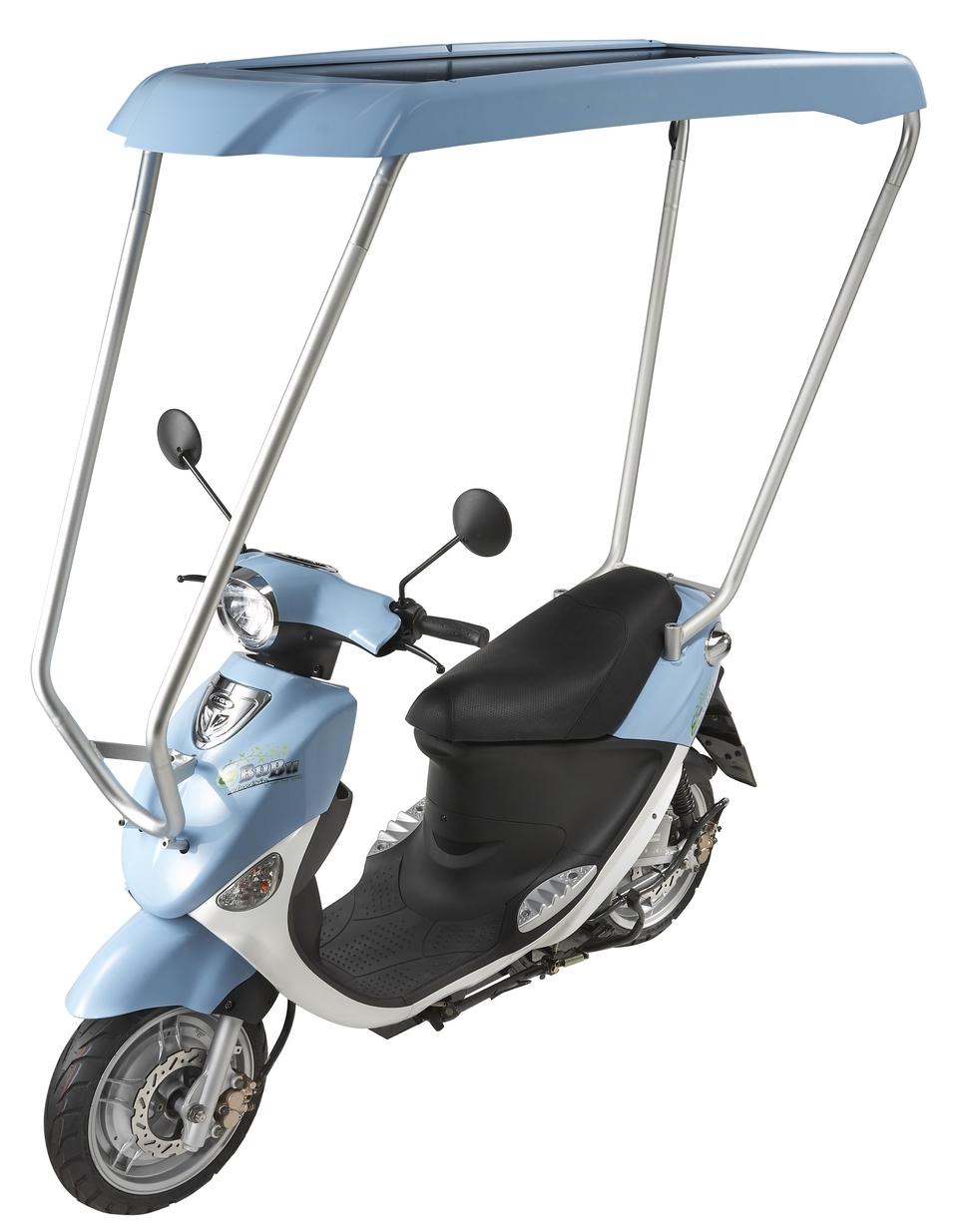 Nouveauté 2009 : Scooter électrique PGO Idep