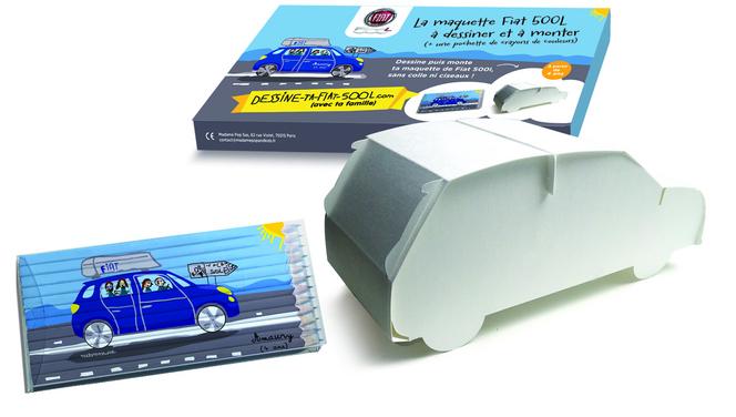 Fiat lance deux jeux pour les tout petits autour de sa 500 L