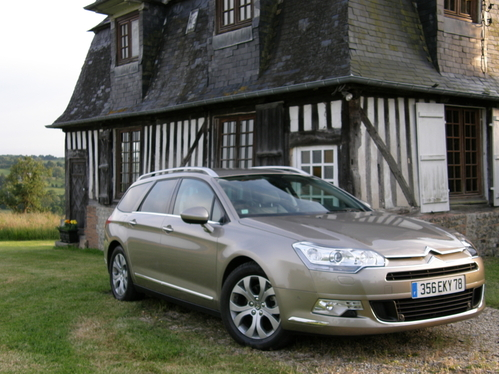 Essai - Citroën C5 Tourer : break futile ou utile ?