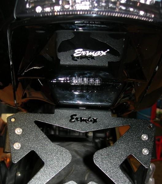 Equiper sa Kawasaki ER-6: test du passage de roue Ermax [1/2].