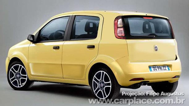 Future Fiat Uno : premières prises