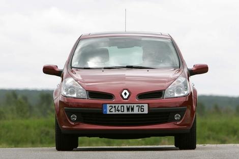 La Renault Clio 3 en 2005, phase 1.