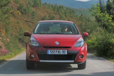 La Renault Clio 3 de 2009, phase 2.