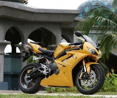 Election de la plus belle moto de l'année