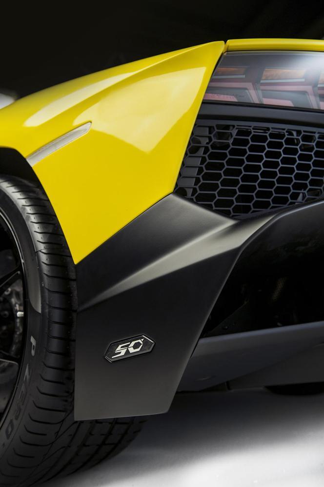 Salon de Shanghai 2013 - Voici la Lamborghini Aventador LP 720-4 50 Anniversario