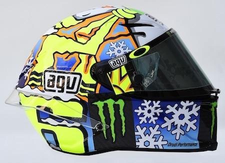 Rossi: l'AGV PistaGP Winter Test 2016