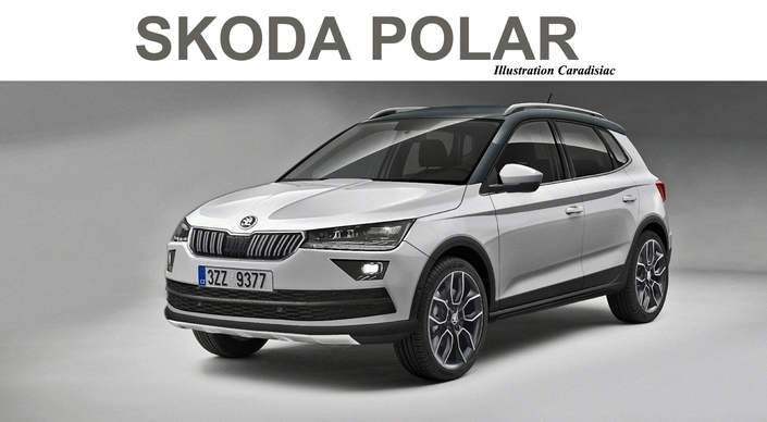 le petit suv skoda arrive en 2019. Black Bedroom Furniture Sets. Home Design Ideas